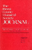 BCHS Journal - The Centennial of The Bronx, 1898-1998