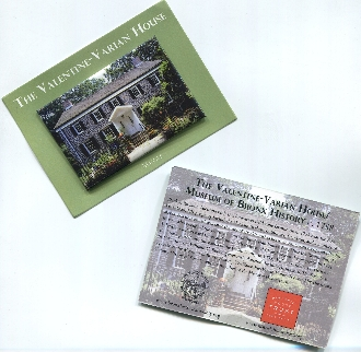 Valentine-Varian House Magnet with card.